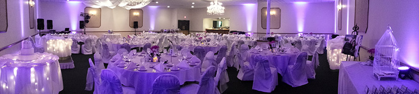 Wedding at the Crystal Room