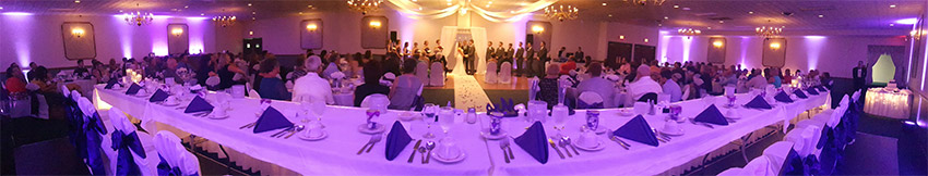 Wedding at the Victoria Room